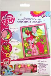купити: Набір для творчості My Little Pony. Пинки Пай. Вышивка и украшение по канве