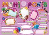 купить: Плакат День народження - чарівні спогади на все життя! Дівчинці