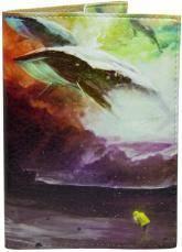 купить: Обложка Кит різнокольоровий. Обкладинка на паспорт