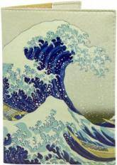 купить: Обложка Японська хвиля. Обкладинка на паспорт