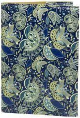купить: Обложка Візерунки сині. Обкладинка на паспорт