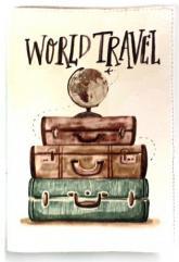 купить: Обложка World travel. Обкладинка на паспорт