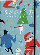 купить: Блокнот Зима.Скетчбук Kyiv Style A5