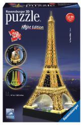 купить: Пазл Нічна Ейфелева вежа. 3D пазл-нічник Ravensburger, 216  елементів