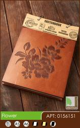 buy: Notebook Flower. Скетчбук A6, 80 аркушів 120г/м2 Eco