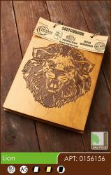 buy: Notebook Lion. Скетчбук A6, 80 аркушів 120г/м2 Eco
