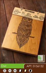 buy: Notebook Owl. Скетчбук A6, 80 аркушів 120г/м2 Eco
