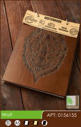 buy: Notebook Wolf. Скетчбук A5, 80 аркушів 120г/м2 Eco