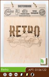 buy: Notebook Retro. Скетчбук A5, 40 аркушів 120г/м2 Eco