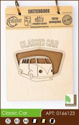 buy: Notebook Classic Car. Скетчбук А6, 40 аркушів 120г/м2 Eco