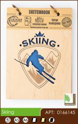 buy: Notebook Skiing. Скетчбук А6, 40 аркушів 120г/м Eco