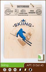 buy: Notebook Skiing. Скетчбук А5, 40 аркушів 120г/м2 Eco