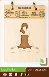 buy: Notebook Meditation. Скетчбук А6, 40 арушів 120г/м2 Eco