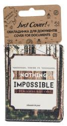 купити: Обкладинка Nothing impossible. Обкладинка для документів