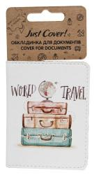 купить: Обложка World travel. Обкладинка для документів