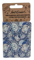 купить: Обложка Візерунок синій NEW. Обкладинка для документів