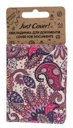 купить: Обложка Візерунок фіолетовий NEW. Обкадинка для документів