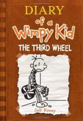 купить: Книга Diary of a Wimpy Kid: The Third Wheel