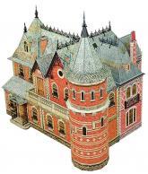 """купить: Модель для сборки Збірна модель з картону """"Ляльковий будинок - 3"""""""