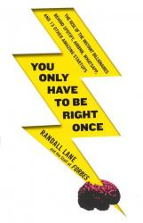 buy: Book You Only Have to Be Right Once