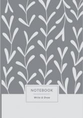 buy: Notebook Блокнот Write&Draw White Leaves
