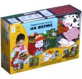 купити: Книга - Іграшка Первая книга знаний. На ферме (+ набор для игры)