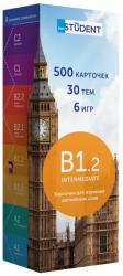 купити: Книга Друковані флеш-картки для вивч. Англійської мови B1.2(500) Pre-Intermediate (рос)
