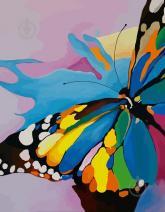 """купити: Набір для творчості Набір, картина за номерами """"Яскравий метелик"""""""