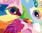 """купити: Набір для творчості Набір, картина за номерами """"Cute Cat"""""""