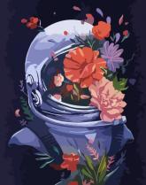 """купити: Набір для творчості Набір, картина за номерами """"Космічні квіти"""""""