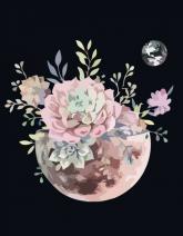 """buy: Creativity kit Набір, картина за ном., """"Планета квітів"""", 35х45см"""