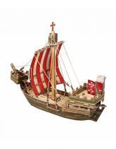"""купити: Ігровий набір Ігровий набір з картону: Середньовічне місто: """"Ганзейський Когг"""""""