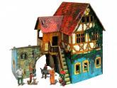 """купити: Ігровий набір Ігровий набір з картону: """"Будинок з кораблем"""""""