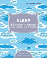 купить: Книга Sleep: 50 Mindfulness Exercises for a Restful Night's Sleep