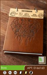 buy: Notebook Boss Скетчбук А6*80арк. 120г/м2  Eco