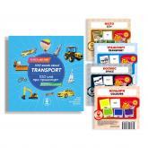 buy: Book Комплект 100 слів про транспорт + картки