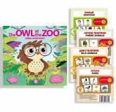 buy: Book Комплект Сова в зоопарку + картки