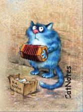 купить: Блокнот Cat Notes: На корм...