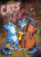 купить: Блокнот Cat Notes: Оркестр...