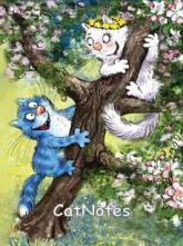 купити: Блокнот Cat Notes: Весна...