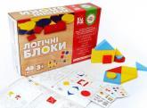 купить: Интерактивная игрушка Навчальний ігровий набір Igroteco Логічні блоки 48 елементів