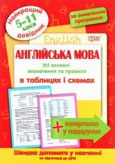 купить: Книга Англійська мова в таблицях і схемах. 5-11 класи