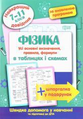 купить: Книга Фізика в таблицях і схемах. 7-11 класи