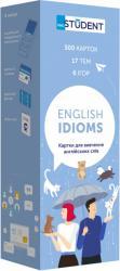 купити: Книга Картки для вивчення англійської мови- English Idioms. 500 карток
