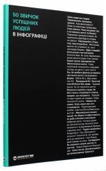 купить: Книга 50 звичок успішних людей в інфографіці