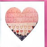 купить: Открытка ручной работы Открытка LOVE: Valentine