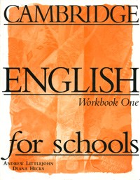 купить: Книга Cambridge English for Schools: Workbook 1