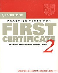 купить: Книга Cambridge Practice Tests for First Certificate 2