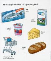 купить: Книга My first English words. Shopping / Закупки изображение2