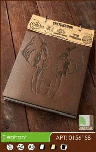 buy: Notebook Elephant. Скетчбук A5, 80 аркушів 120г/м2 Eco